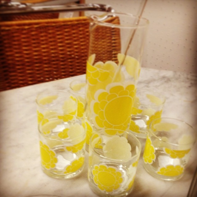 Eight Piece Cocktail Set